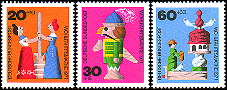 Germany: TKARAKURI toys | Puppet Stamp