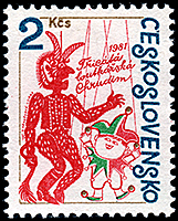 CZECHOSLOVAKIA: Devil and Kašpárek