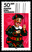 East Germany: Doctor Faustus (string puppet)